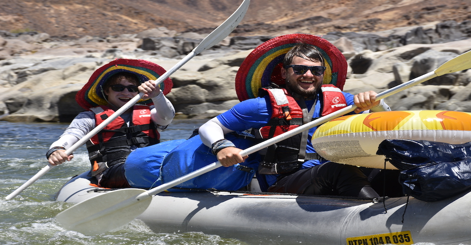 4-day orange river rafting