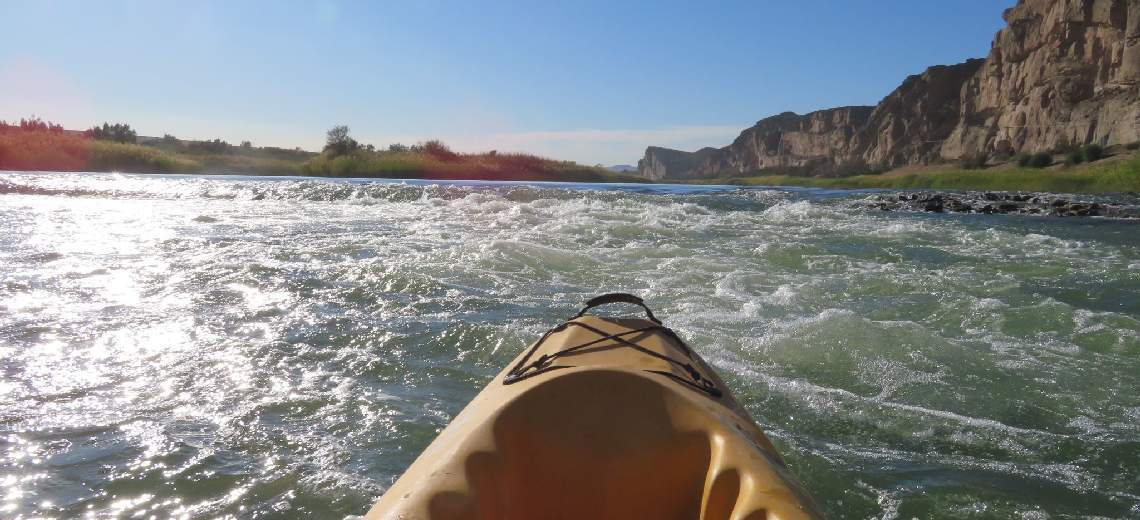 Kayak the Orange River on our Adventure Trail